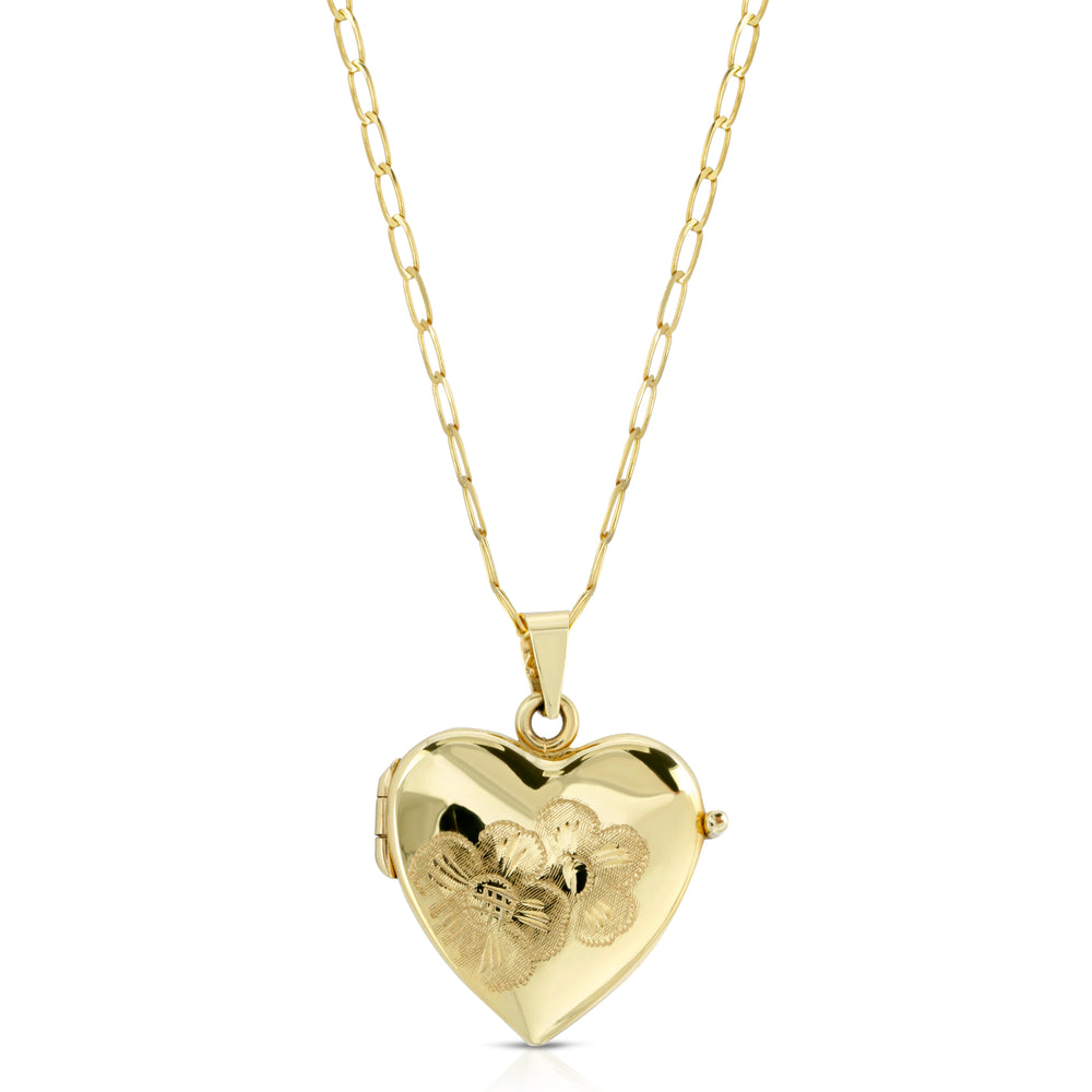 VINTAGE ITALIAN HEART LOCKET