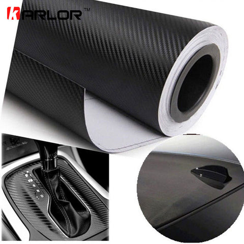 127cmx15cm Carbon Fiber Vinyl Film - Sheet Roll-RPM Mods