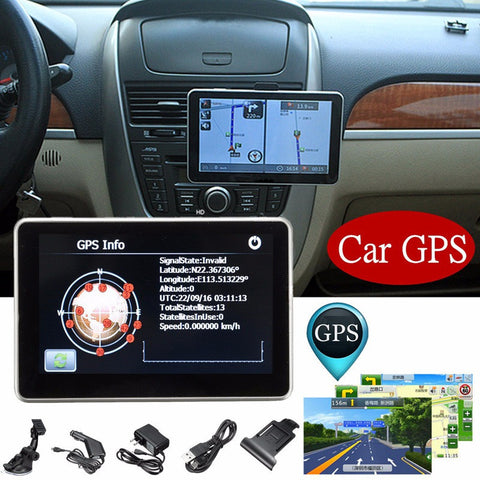 4.3 Inch LCD Display 8G Car GPS Navigation System Navigator-RPM Mods