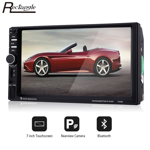 7inch Touchscreen Car MP5 Video Player 7060B - wheel Control Rearview Camera-RPM Mods