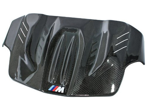 aFe 79-13001 Carbon Fiber Engine Cover for BMW M5 F10-RPM Mods