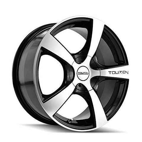 "Touren TR9 3190 Black Wheel with Machined Face (17x7""/10x100mm)-RPM Mods"