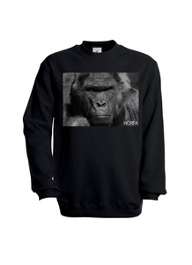 Görilla Sweatshirt in Black