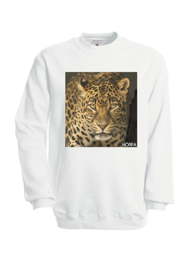 Leöpard Sweatshirt in Black