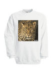 Leöpard Sweatshirt in White