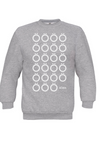 Multilaut Sweatshirt in Light Grey