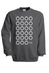 Multilaut Sweatshirt in Steel Grey
