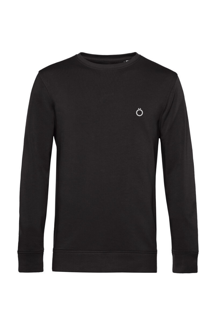 Organic Sweatshirt in Black