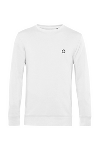 Organic Sweatshirt in White