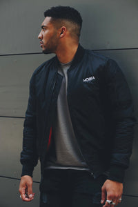 ITV Ibiza Weekender star Callum Izard in our Bomber Jacket