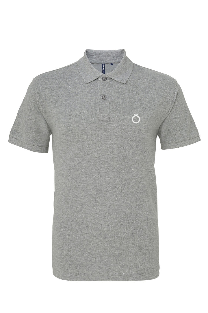 Umlaut Classic Pölö Shirt in Light Grey