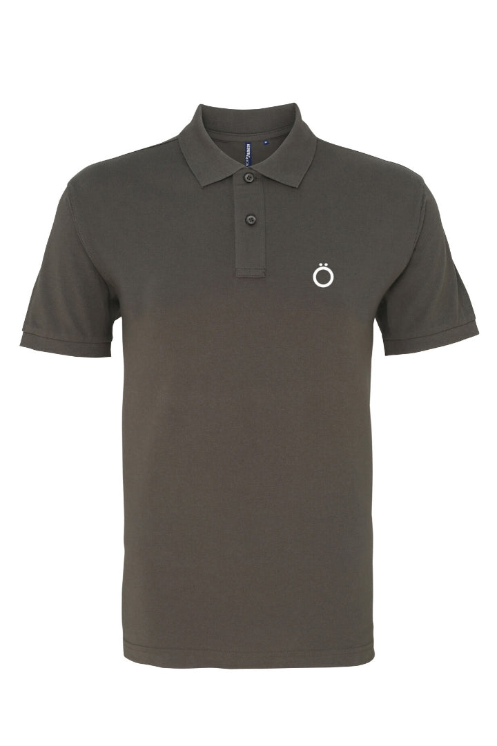 Umlaut Classic Pölö Shirt in Steel Grey