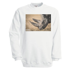 Rhino Sweatshirt in Black