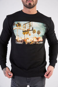 BBALL Sweatshirt - HÖRFA is a men's global fashion brand that provides products such as Fashionable Watches, Wallets, Sunglasses, Belts, Beard and Male Grooming Products
