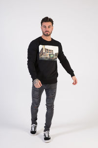 INDUSTRIAL Sweatshirt - HÖRFA is a men's global fashion brand that provides products such as Fashionable Watches, Wallets, Sunglasses, Belts, Beard and Male Grooming Products