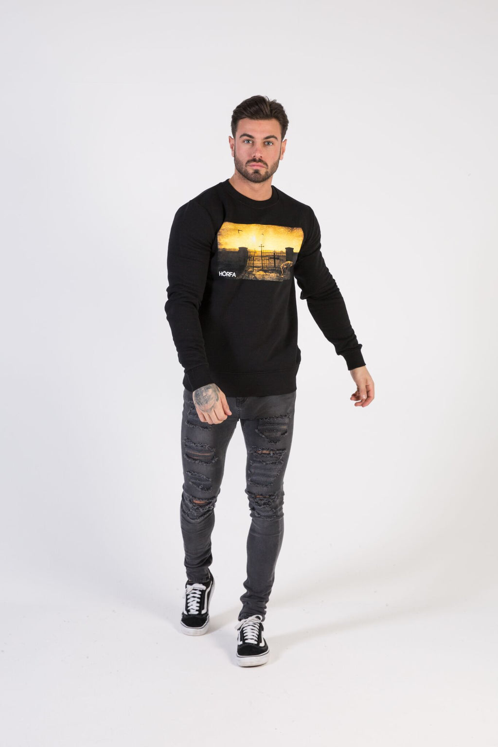 DAY OF THE DEAD Sweatshirt - HÖRFA is a men's global fashion brand that provides products such as Fashionable Watches, Wallets, Sunglasses, Belts, Beard and Male Grooming Products