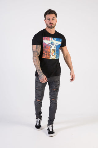 F**k Religion Muscle Fit T-Shirt - HÖRFA is a men's global fashion brand that provides products such as Fashionable Watches, Wallets, Sunglasses, Belts, Beard and Male Grooming Products