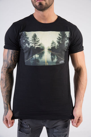 OPEN ROAD Muscle Fit T-Shirt