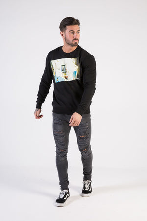 MEMORIES Sweatshirt - HÖRFA is a men's global fashion brand that provides products such as Fashionable Watches, Wallets, Sunglasses, Belts, Beard and Male Grooming Products
