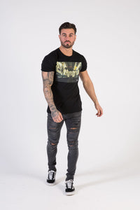 SUBWAY Muscle Fit T-Shirt - HÖRFA is a men's global fashion brand that provides products such as Fashionable Watches, Wallets, Sunglasses, Belts, Beard and Male Grooming Products