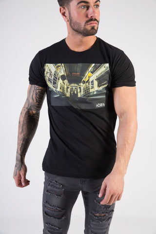 SUBWAY Muscle Fit T-Shirt