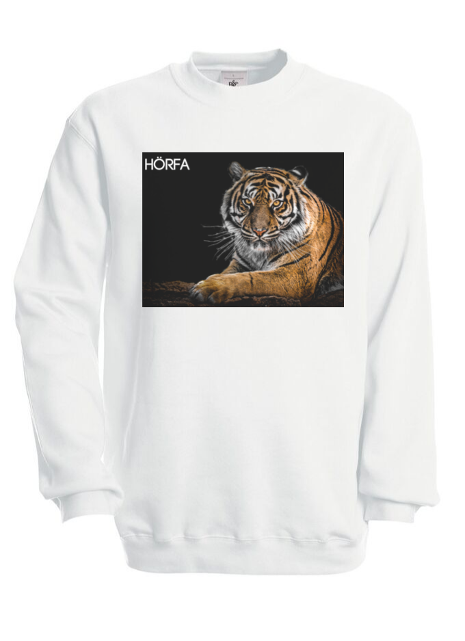 Tiger Sweatshirt in Black