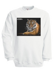 Tiger Sweatshirt in White
