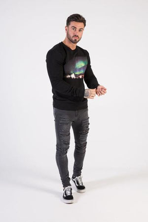 AURORA Sweatshirt - HÖRFA is a men's global fashion brand that provides products such as Fashionable Watches, Wallets, Sunglasses, Belts, Beard and Male Grooming Products
