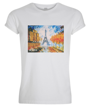 WATERCOLOUR IN PARIS Muscle Fit T-Shirt - HÖRFA is a men's global fashion brand that provides products such as Fashionable Watches, Wallets, Sunglasses, Belts, Beard and Male Grooming Products