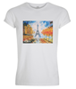 Image of WATERCOLOUR IN PARIS Muscle Fit T-Shirt - HÖRFA is a men's global fashion brand that provides products such as Fashionable Watches, Wallets, Sunglasses, Belts, Beard and Male Grooming Products