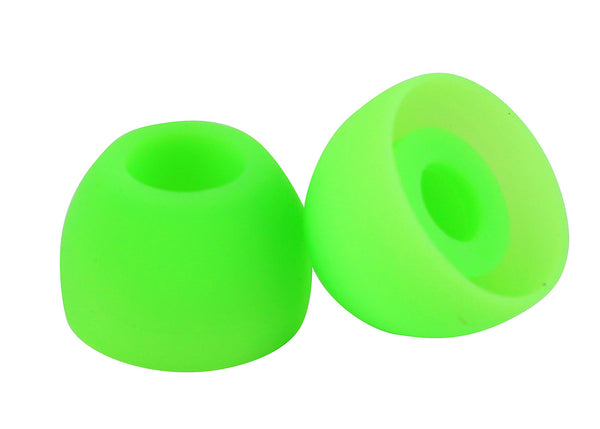 Green earbud Tips ( 18 pairs )