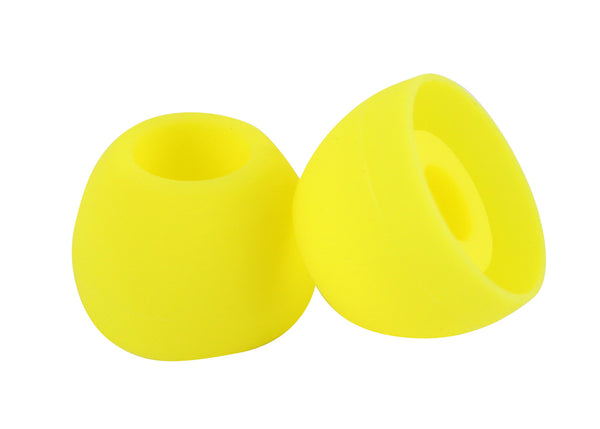 Yellow earbud Tips ( 18 pairs )