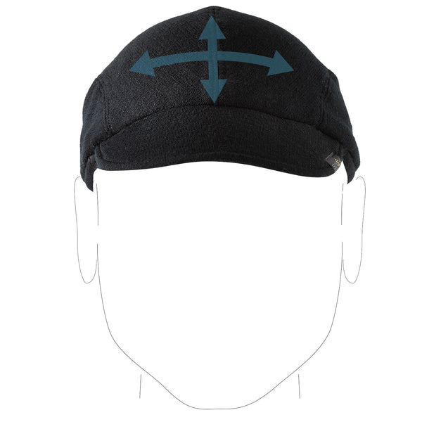 Merino Cycling Cap 4 way stretch