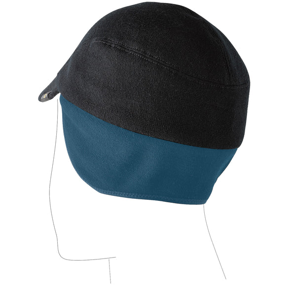Merino Winter Cycling Cap Neckline