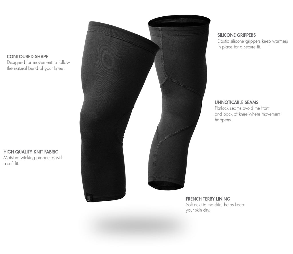 Merino Knee Warmer Details