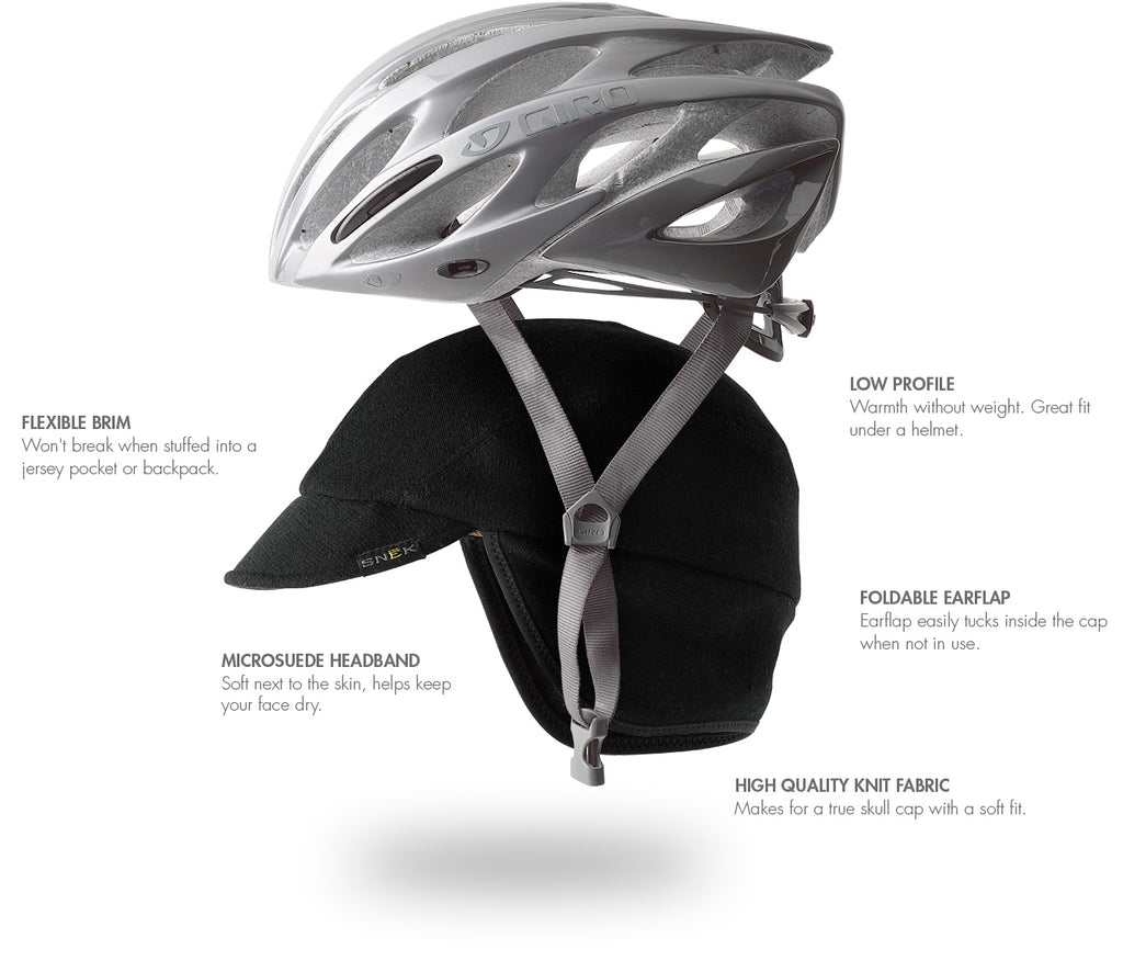 Merino Winter Cycling Cap Details