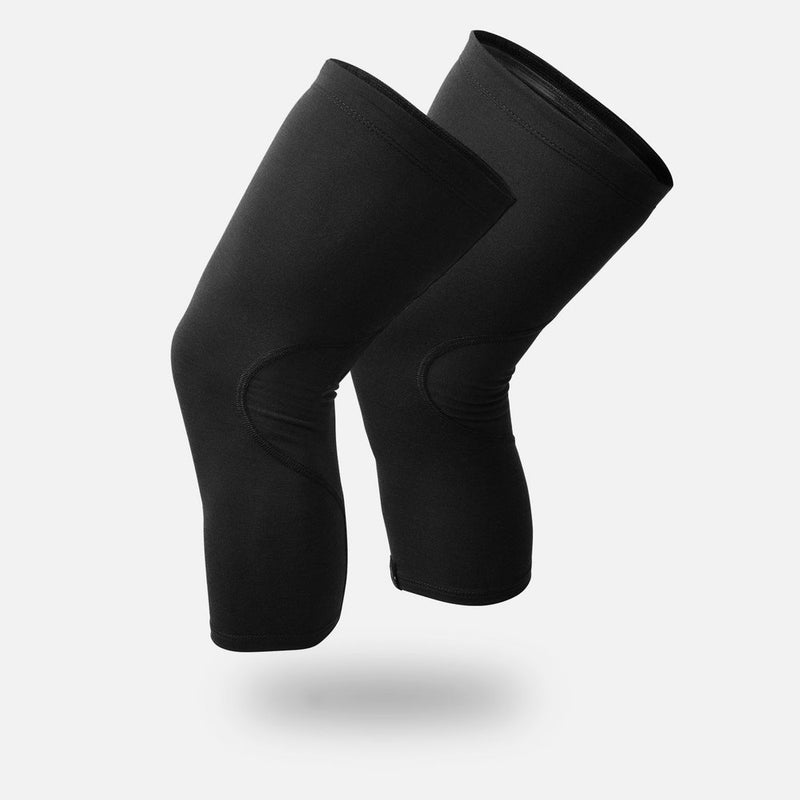 Black Merino Knee Warmers