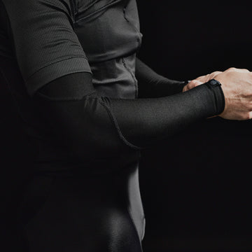 Black Merino Arm Warmers