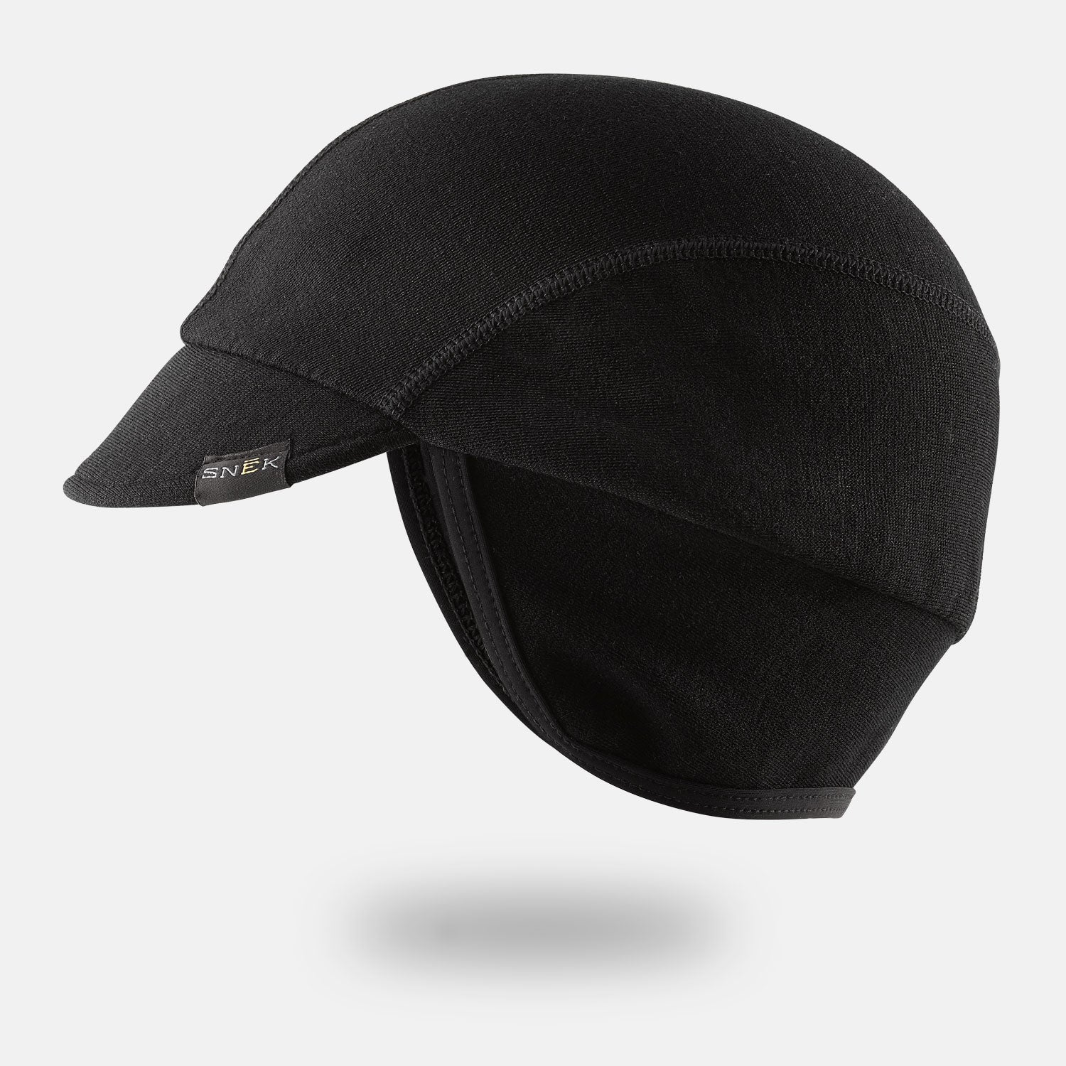 snek cycling heavyweight merino winter cap floating