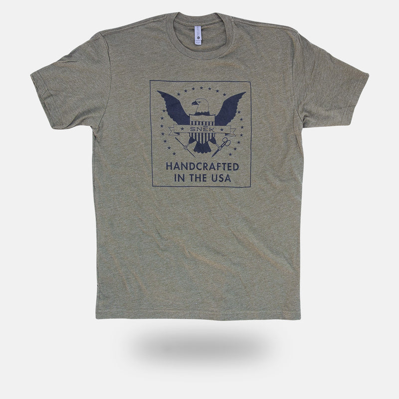 Handcrafted Military Tee