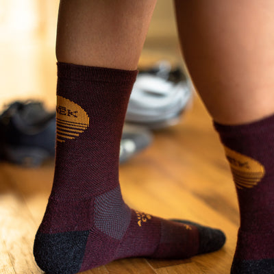 Merino Desert Sunrise Sock