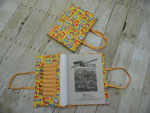 Coloring Book Tote - Yellow Road Signs