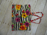 Coloring Book Tote - Exotic Flowers