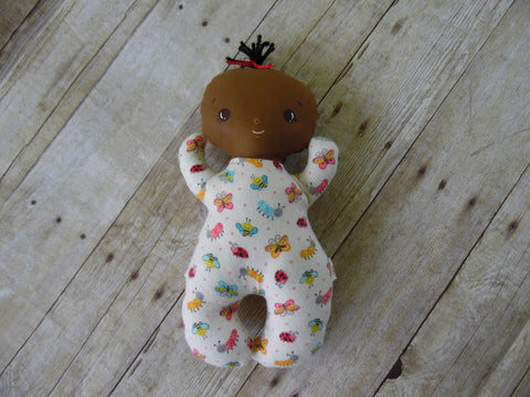Butterbean Baby - Dark Girl - Butterfly/Bee/Caterpillar Print