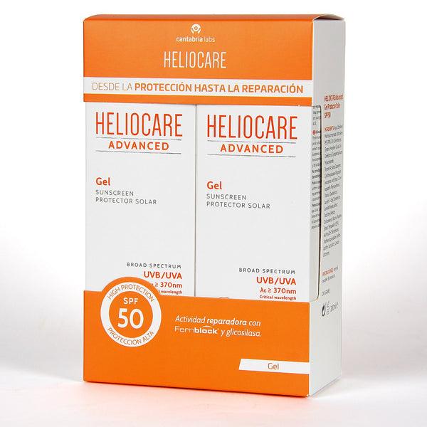 Heliocare Advanced Pack Duplo Gel SPF 50