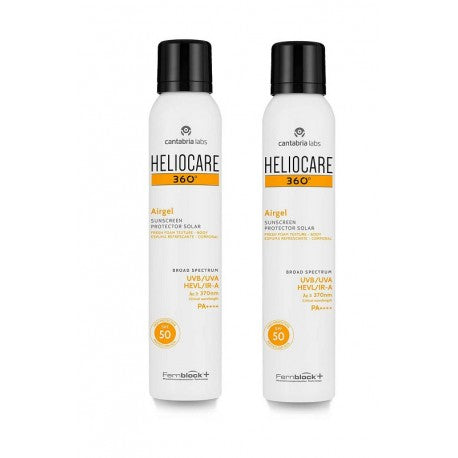 HELIOCARE pack airgle spray SPF 50 2x200mL