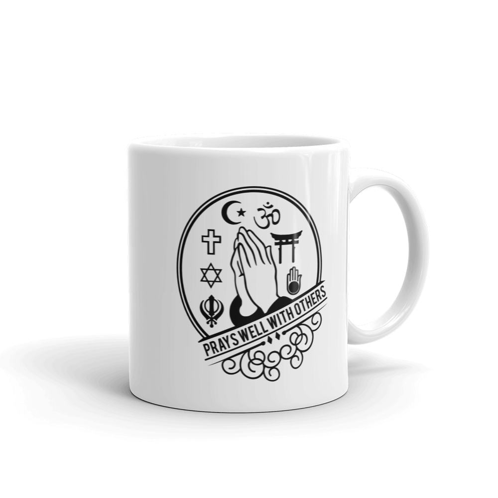 Prays Well With Others Mug