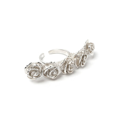 Floral Knuckle Ring