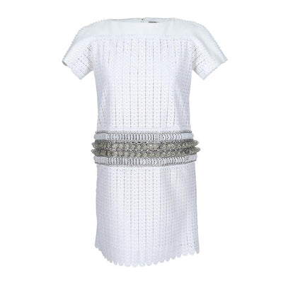 White guipure-lace Dress