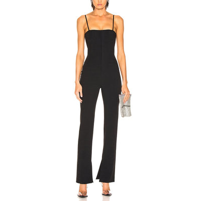 Adjustable Straps Jumpsuit